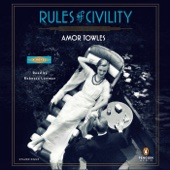 Rules of Civility: A Novel (Unabridged) - Amor Towles Cover Art