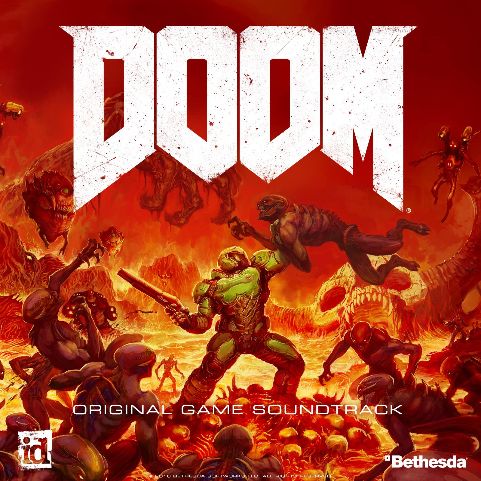 Mick Gordon - Doom (Original Game Soundtrack) (2016)