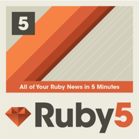 Podcast cover art for Ruby5