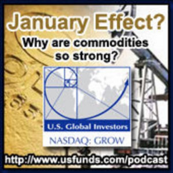 January Effect? Why are commodities so strong?