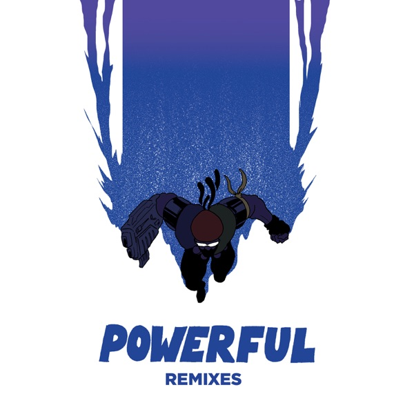Powerful Remixes feat Ellie Goulding  Tarrus Riley - EP Major Lazer CD cover