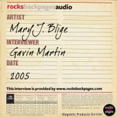 Mary J. Blige Interviewed By Gavin Martin