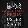 Back To Sleep REMIX feat Usher ZAYN Single