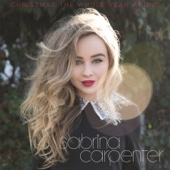 Christmas the Whole Year Round - Sabrina Carpenter Cover Art