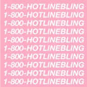 Drake - Hotline Bling  artwork