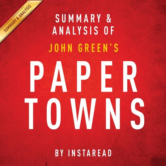 paper towns john green pdf download