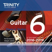 Trinity College London Guitar Grade 6 2016-2019