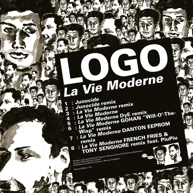 la vie moderne by logo on apple