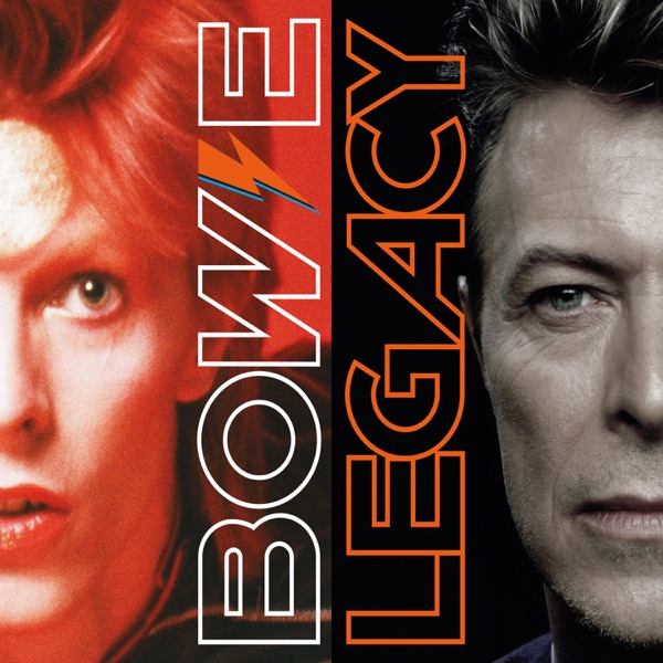 Legacy Deluxe Edition David Bowie CD cover