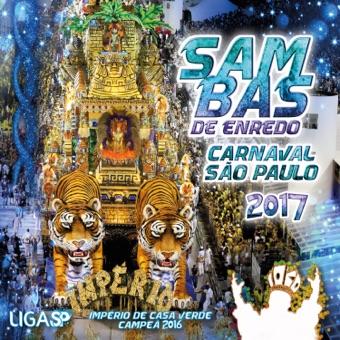 Carnaval SP 2017 – Sambas de Enredo das Escolas de Samba de São Paulo – Vários Artistas