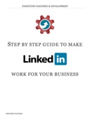 Step By Step Guide to LinkedIn