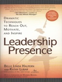 Kathy Lubar & Belle Linda Halpern - Leadership Presence  artwork