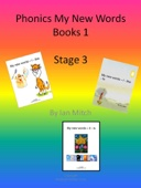 Phonics My New Words Books 1