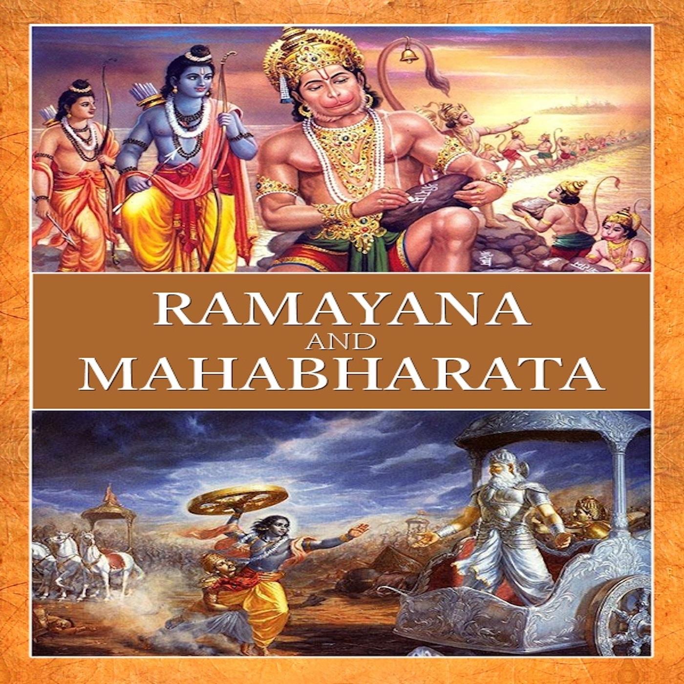 Write about the two epics ramayana and mahabharata epics