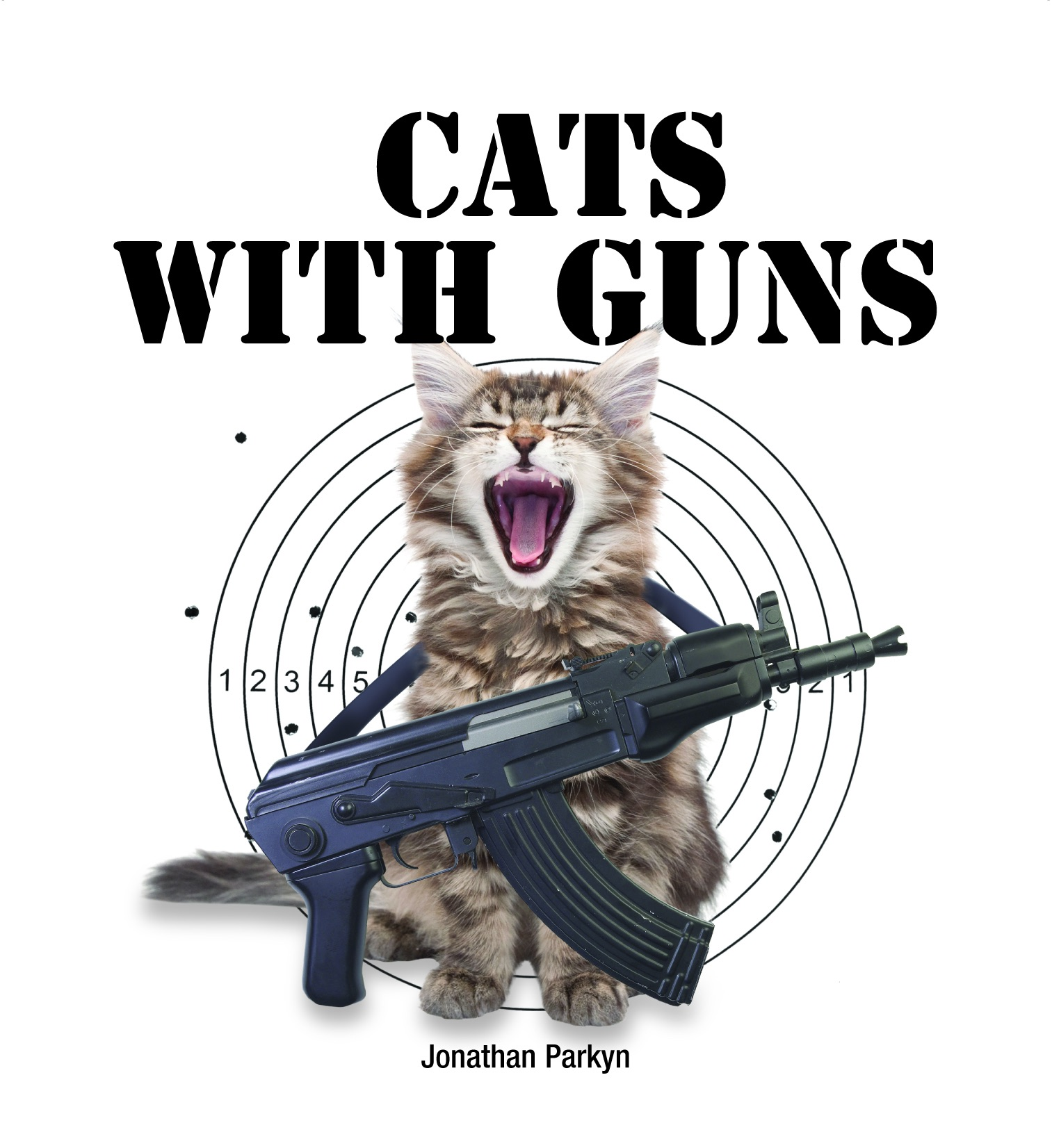 Cats With Guns by Jonathan Parkyn on iBooks