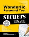 Secrets Of The Wonderlic Personnel Test Study Guide