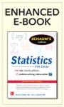 Schaums Outline Of Statistics 5th Edition Enhanced Edition