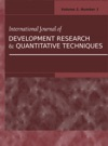 International Journal Of Development Research And Quantitative Techniques