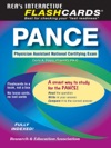 PANCE Physician Assistant Nat Cert Exam Flashcard Book REA