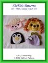 211 Baby Animal Hats Crochet Pattern 3 211