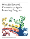 West Hollywood Elementary Apple Learning Program