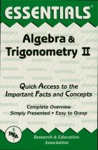 The ESSENTIALS Of Algebra  Trigonometry II