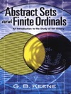 Abstract Sets And Finite Ordinals An Introduction To The Study Of Set Theory