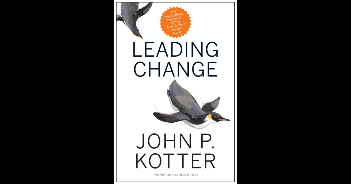 leading change by john p kotter Find great deals for leading change by john p kotter (2012, hardcover) shop with confidence on ebay.