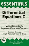 The Essentials Of Differential Equations I