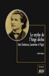 Le Mythe De Lange Dchu Chez Eminescu Lamartine Et Vigny