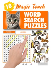 Magic Touch - Cat Breeds Word Search Puzzles - Lovatts Crosswords & Puzzles Book