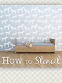 How to Stencil Instructions by Cute Stencils