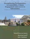 Strengthening Parliamentary Accountability Citizen Engagement And Access To Information