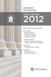 Research Foundation Year In Review 2012