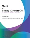 Mutti V Boeing Aircraft Co