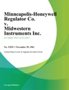 Minneapolis-Honeywell Regulator Co V Midwestern Instruments Inc