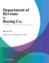 Department Of Revenue V Boeing Co
