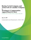 Boeing Vertol Company And Aetna Life  Casualty Company V Workmens Compensation Appeal Board Coles