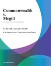 Commonwealth V Mcgill