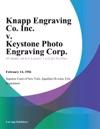 Knapp Engraving Co Inc V Keystone Photo Engraving Corp
