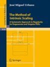 The Method Of Intrinsic Scaling