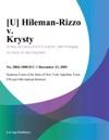 Hileman-Rizzo V Krysty