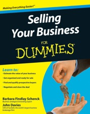 Selling your business for dummies by barbara findlay schenck selling your business for dummies malvernweather Image collections