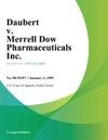 Daubert V Merrell Dow Pharmaceuticals Inc