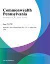 Commonwealth Pennsylvania