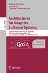 Architectures For Adaptive Software Systems