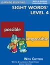 Sight Words Plus Level 4 Sight Words Flash Cards With Critters For Grade 2  Up