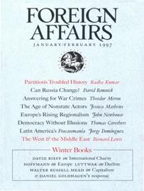 FOREIGN AFFAIRS - JANUARY/FEBRUARY 1997