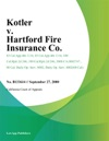 Kotler V Hartford Fire Insurance Co