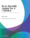 In Re Juvenile Action No J -72918-S